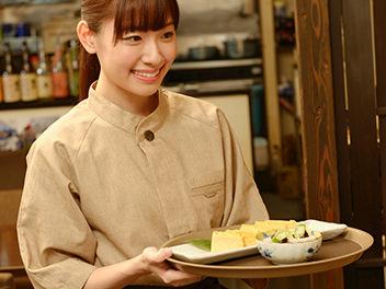 タブレット注文なので、飲食店の<br>アルバイト未経験者でも安心して働けます。