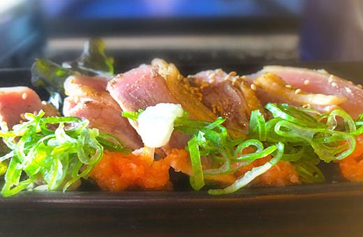 南九州産・地鶏炙りポン