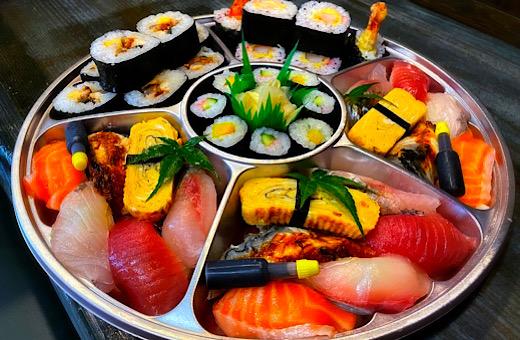 お寿司盛り合わせ(3人前)(前日までのご予約)