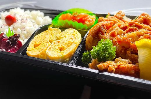 宮崎鶏の唐揚げ弁当