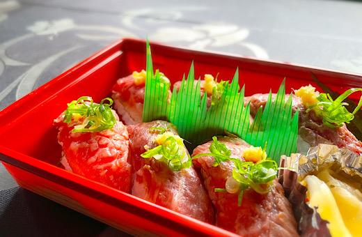 松阪牛の炙り握り寿司(6貫)
